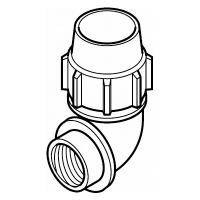 Compression Female Elbow Adaptor