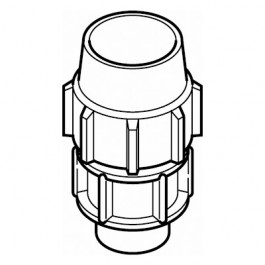 Female Straight Adaptor