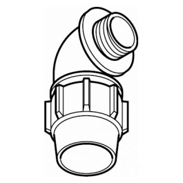 Male Elbow Adaptor