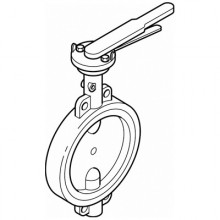 Butterfly Valves - Lever Operated