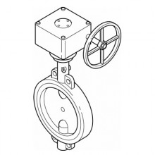 Butterfly Valves - Gearbox Operated