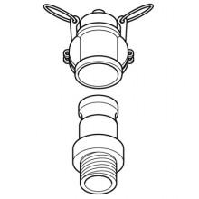 Camlock Access  -  Dust Cap Upper