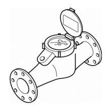 Cold Water Meter  Flanged Ends