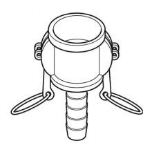 Hose Tail Coupler